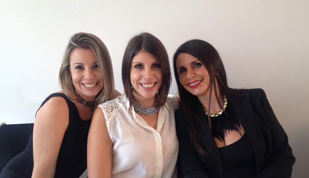 Imagen de Laura, Carolina y Patricia